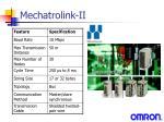 mechatrolink ii3