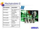 mechatrolink ii4