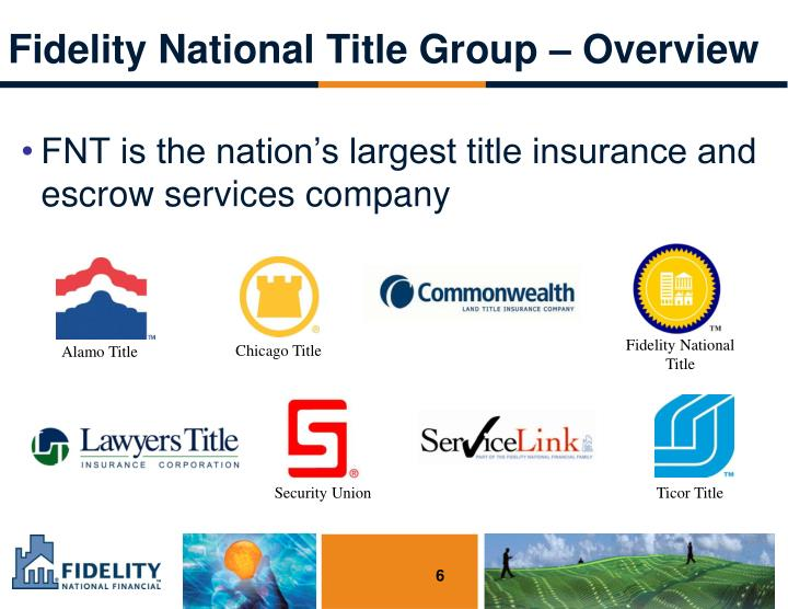 Fidelity National Title Group – Overview