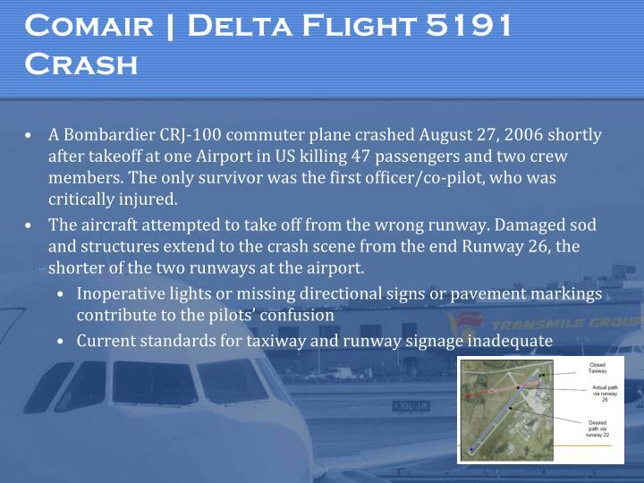 Comair | Delta Flight 5191 Crash