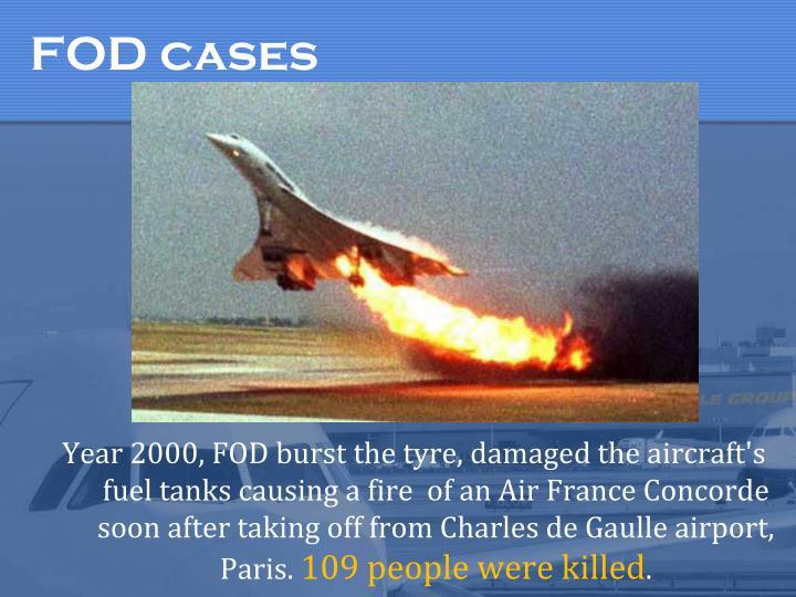 FOD cases