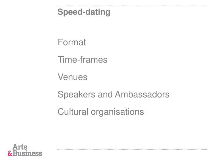 Speed-dating