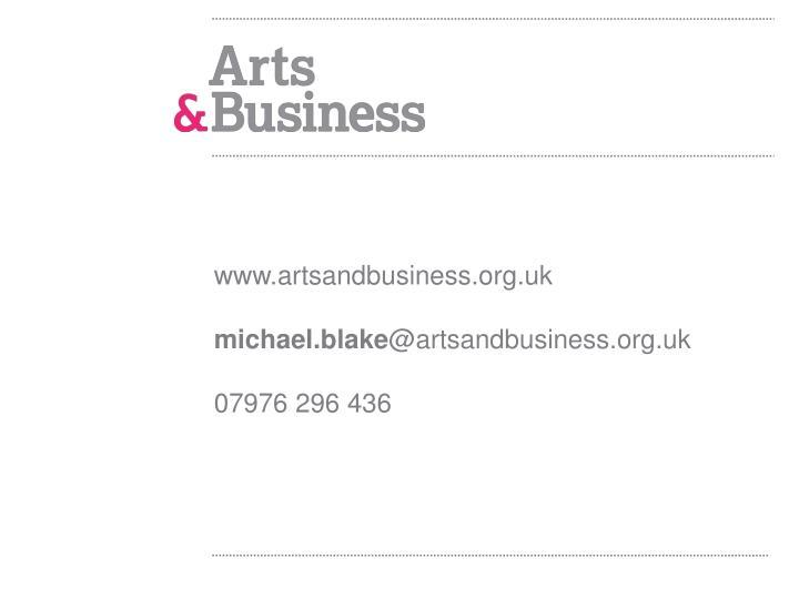 www.artsandbusiness.org.uk