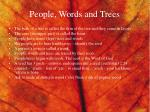 people words and trees1