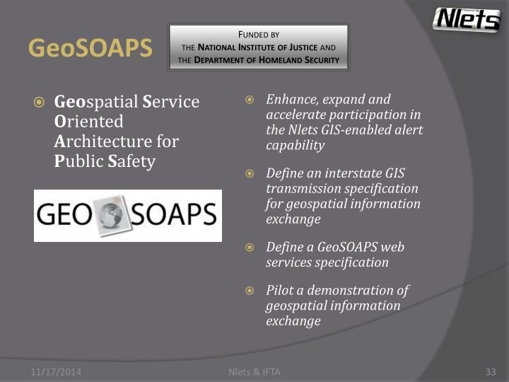 GeoSOAPS