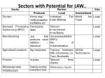 sectors with potential for l4w1