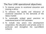 the four l4w operational objectives