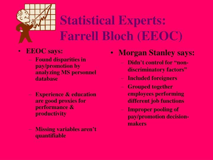 EEOC says: