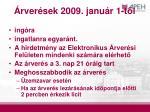 rver sek 2009 janu r 1 t l