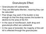 granulocyte effect