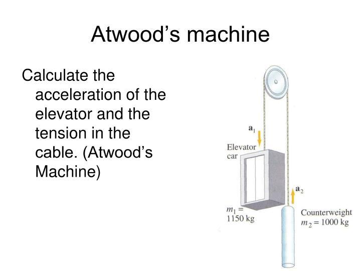 Atwood's machine
