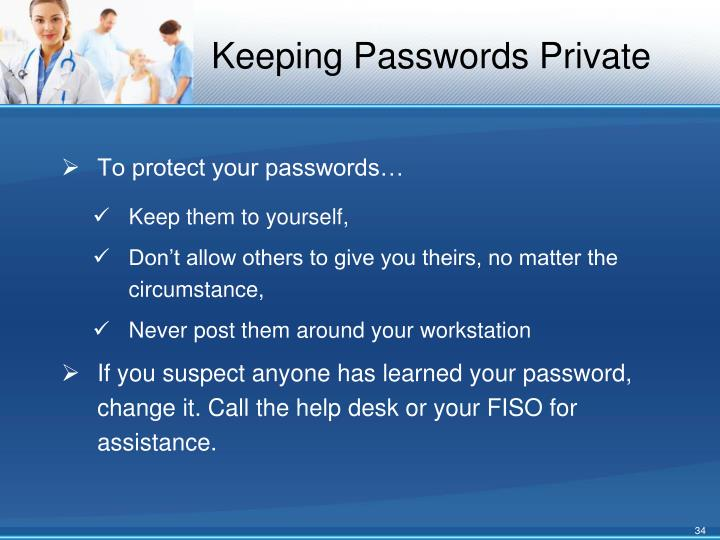 Keeping Passwords Private
