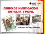 grupo de investigaci n en pulpa y papel