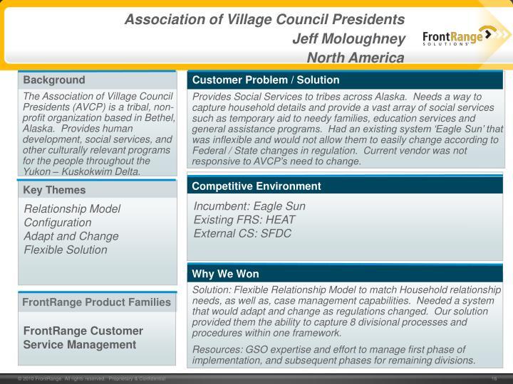 Association of Village Council Presidents