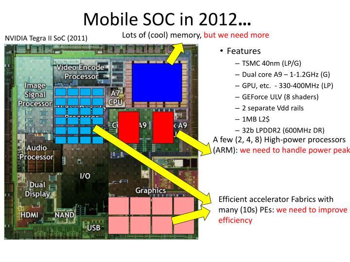 Mobile SOC in