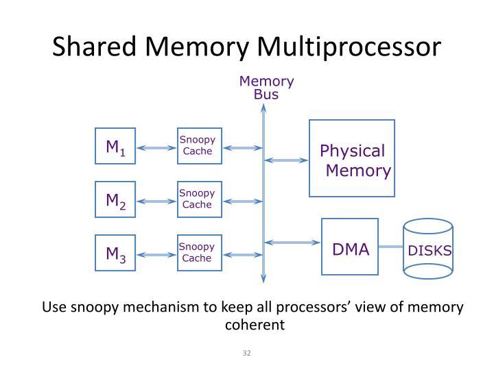 Shared Memory Multiprocessor