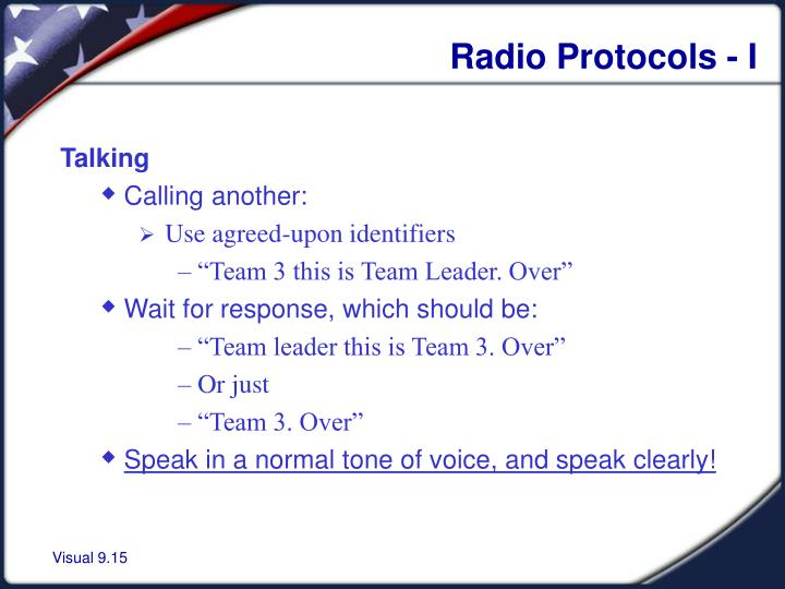 Radio Protocols - I