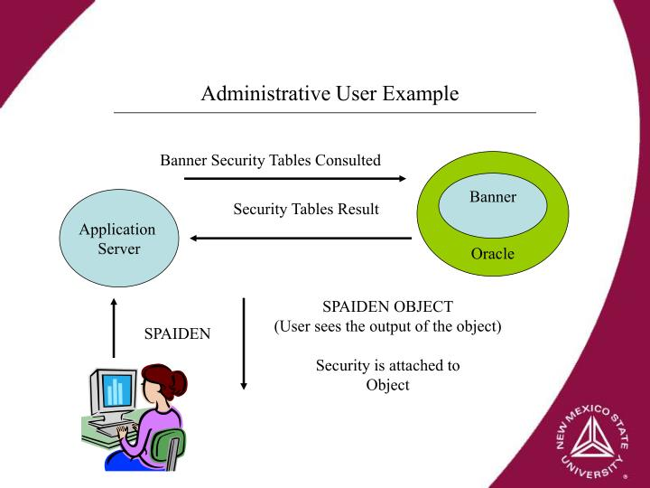 Administrative User Example