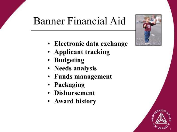 Banner Financial Aid