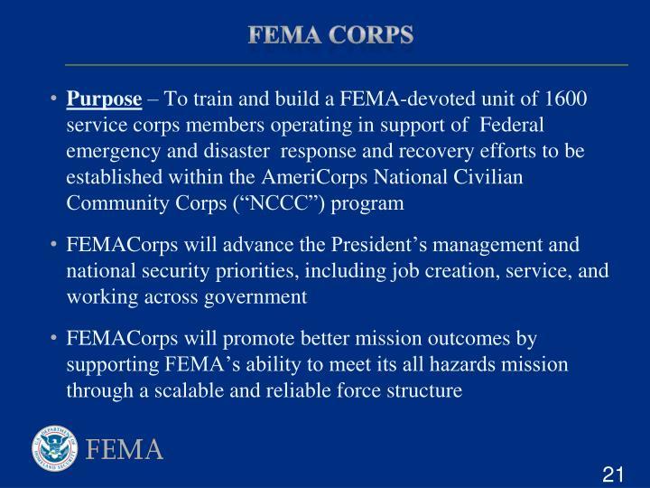 FEMA Corps