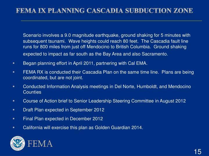FEMA IX