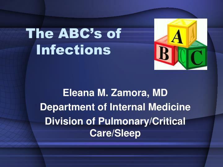 The abc s of infections