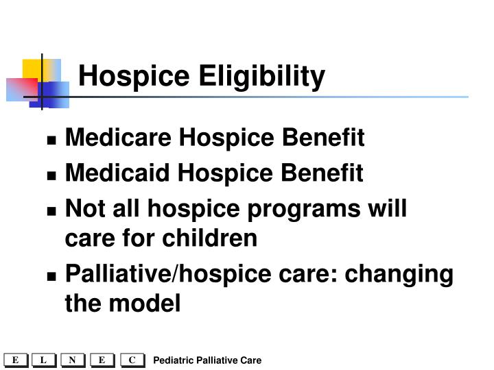 Hospice Eligibility