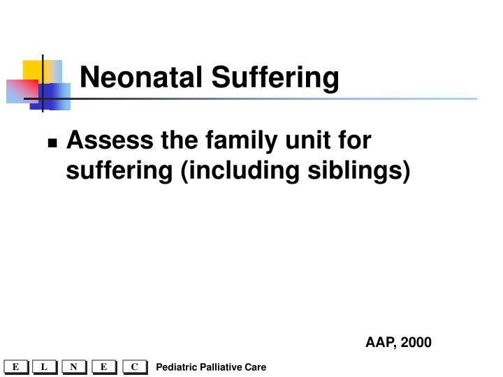Neonatal Suffering