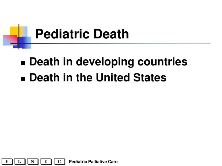 Pediatric Death