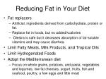 reducing fat in your diet1