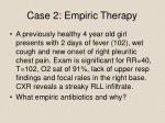 case 2 empiric therapy