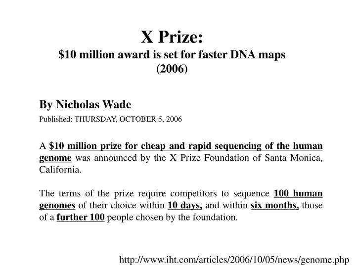 X Prize: