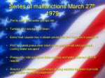 series of malfunctions march 27 th 1979