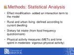 methods statistical analysis2