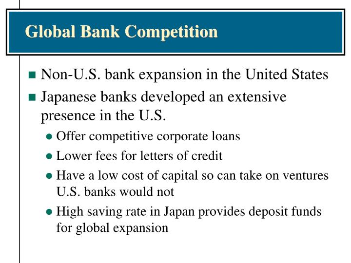 Global Bank Competition