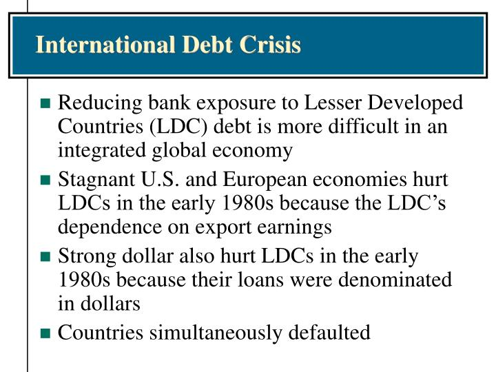 International Debt Crisis