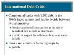 international debt crisis1