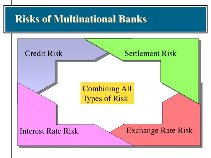 Risks of Multinational Banks