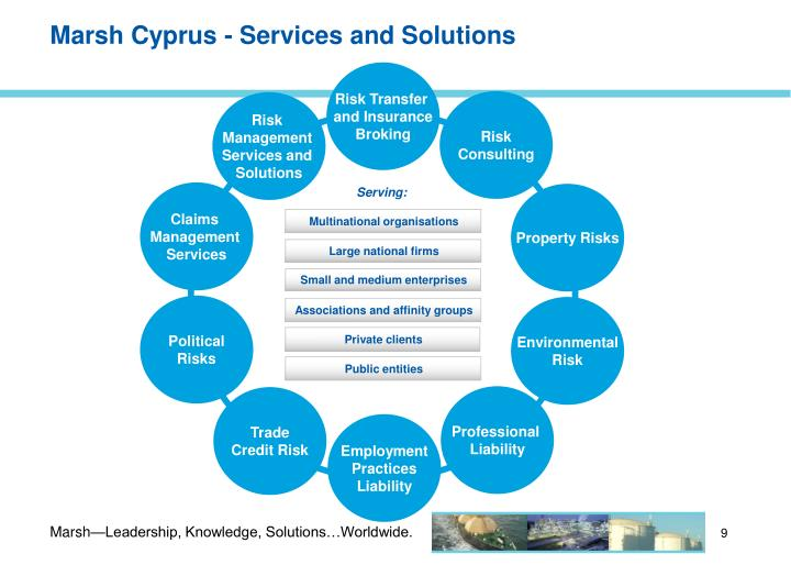 Marsh Cyprus - Services and Solutions
