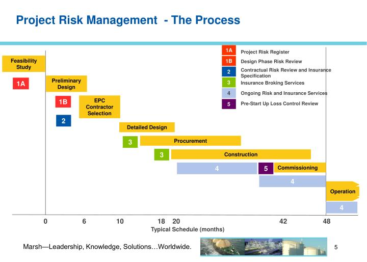Project Risk Management  - The Process