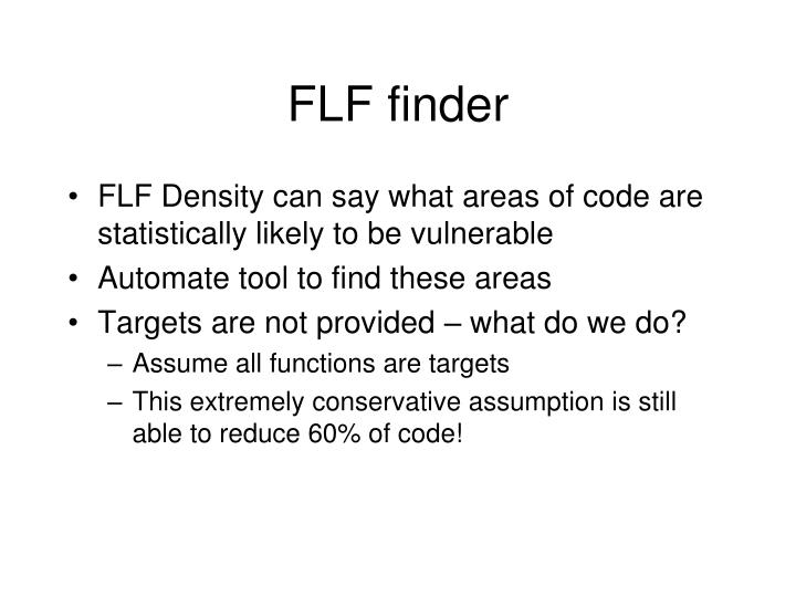 FLF finder