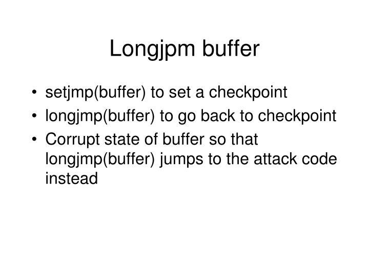Longjpm buffer