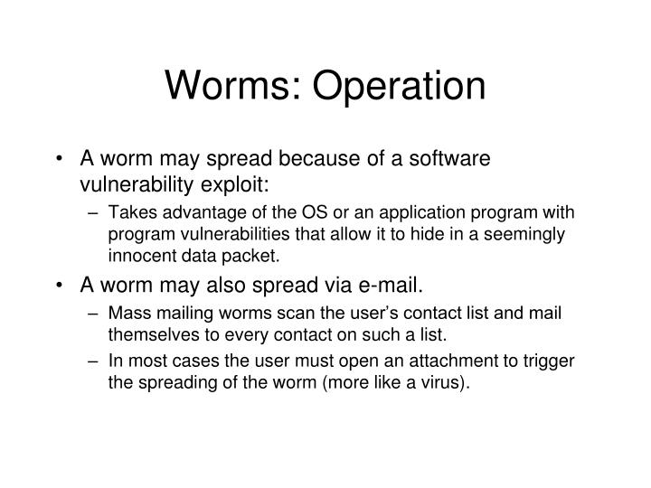 Worms: Operation