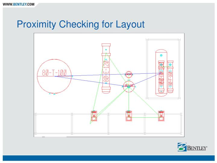 Proximity Checking for Layout