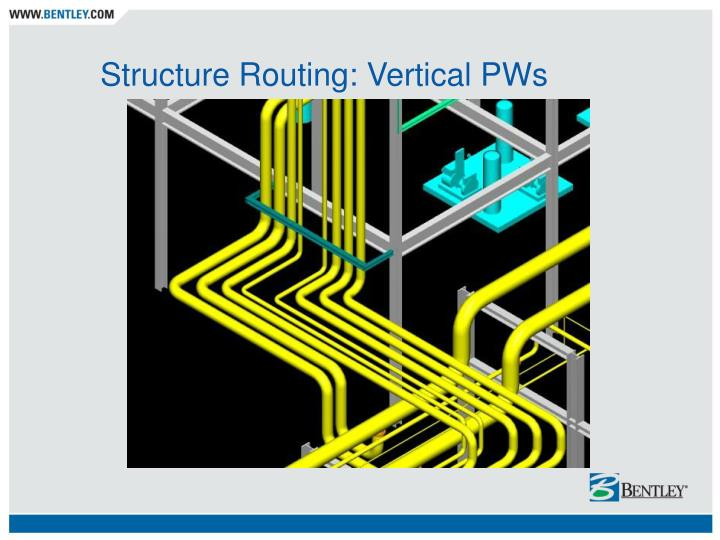 Structure Routing: Vertical PWs
