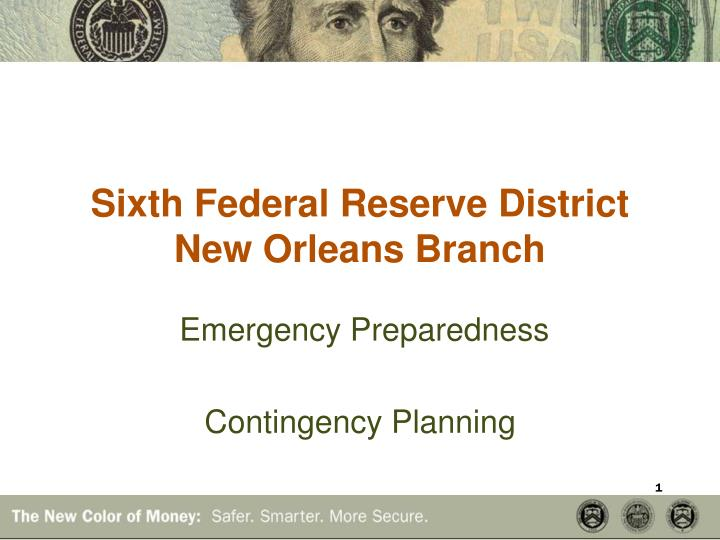 Sixth Federal Reserve District