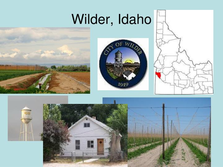 Wilder idaho