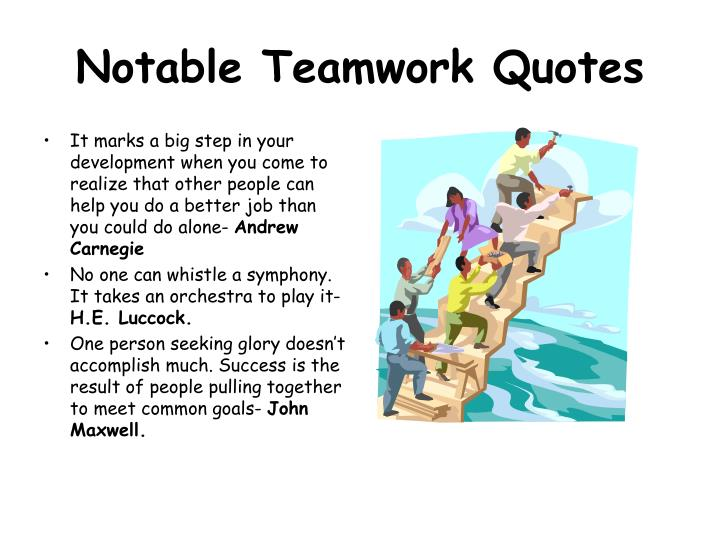 Notable Teamwork Quotes