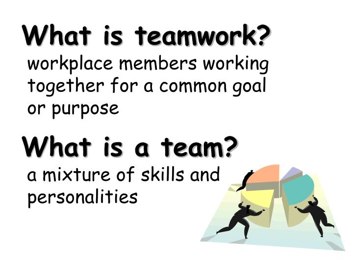 What is teamwork?