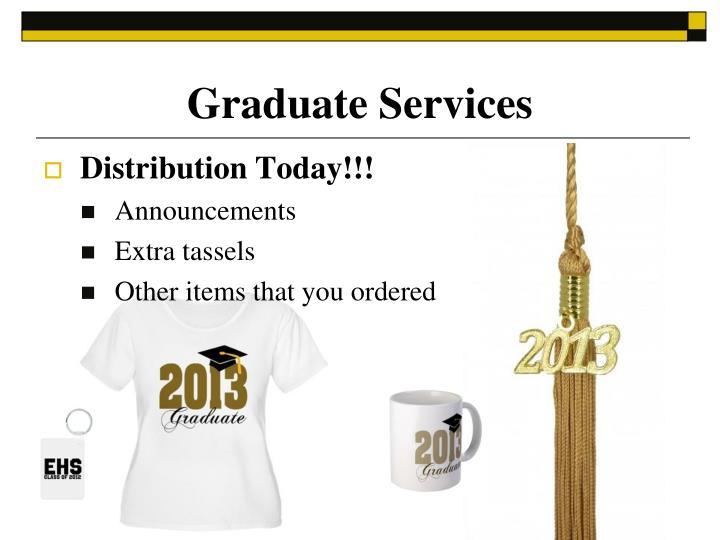 Graduate Services